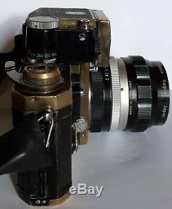 Nikon Nikkor F Photomic FTn GOLD+ NIKKOR-O AUTO 12 f=35mm