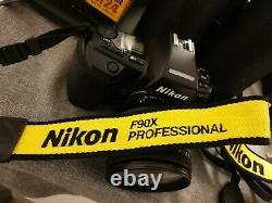 Nikon f90x plus zoom af nikkor 24-120mm 13.5-5 6 d