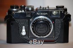 Nikon telemetro S3 Olympic Nikon Rangefinder camera+ original rare body cap