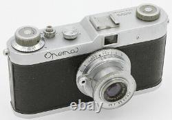 OPEMA MEOPTA Czechoslovakia Vers 1950 Objectif Meopta Belar 3,5/45 mm N°043243