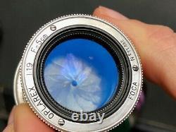 Objectif FOCA OPLAREX 11.9 F = 5 cm à baionnette appareil photo lens camera OPL