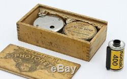 PHOTORET MAGIC INTRODUCTION Co New York USA Vers 1893 6 vues 12 x 12 mm