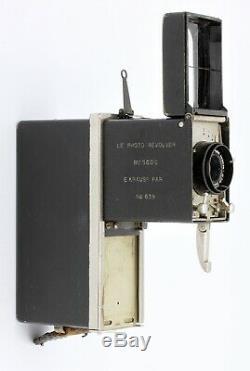 PHOTO REVOLVER E KRAUSS Paris France Vers 1921 E Krauss ZeissTessar 4/40 mm