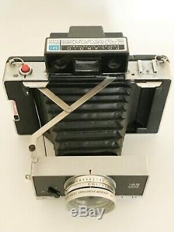 POLAROID 195 TOMINON 114mm f3.8 PARFAIT ETAT/ MINT & TESTED + PORTRAIT KIT