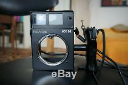 POLAROID 600 SE, 2 X MAMIYA 127 mm f 4.7, BACK POLAROID. GOOD CONDITION
