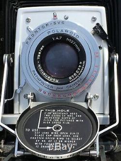 POLAROID Manuel 110B Appareil Photo Vintage Collection Deco Instant Camera TOP
