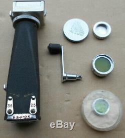 Paillard Bolex 16 MM Camera Vintage N° 32333 Avec 3 Objectifs (d)