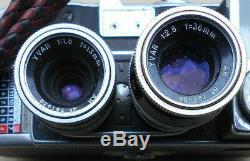Paillard Bolex B8l Camera Vintage Avec 2 Objectifs