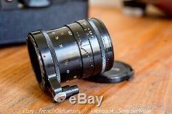 Perfect Alpa 10D All Black set // Switar 1.8 All black Leica, Zeiss, Rectaflex
