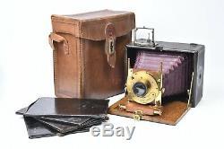 Petit appareil photographique Le Photo-Siècle format 9x 12 cm. #5228