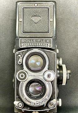 Photo rolleiflex 6/6 3.5 planar, appareil photo argentique Rollei