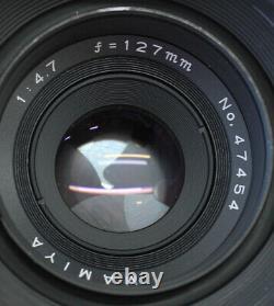 Polaroid 600SE Instantanée Caméra Avec / Mamiya 127mm F/4.7 & Arrière De Japon
