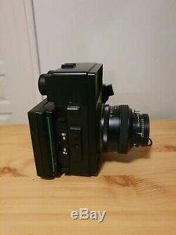 Polaroid 600 SE + Objectif Mamiya 127mm