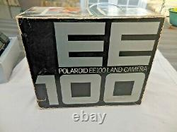 Polaroïd Ee100 Instantané Land Camera A Cassette, Peu Utilise Etat D'exception