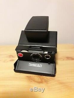 Polaroid SX70 modèle 2 + Flash + Pochette