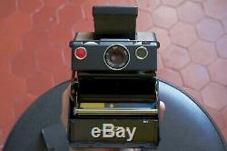 Polaroid Sx-70 Land Camera Working Tested Photo Appareil Sx70 Pola Instax Black