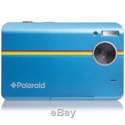 Polaroid Z2300 blau digitale Sofortbildkamera 10MP mit integriertem Drucker