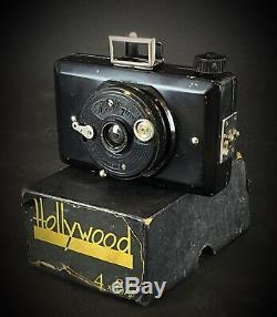 RARE 1930´s Ruberg und Renner Hollywood appareil photo argentique ancien + boîte