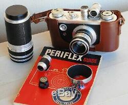 RARE CORFIELD PERIFLEX + OBJECTIFS 50 et 100 mm