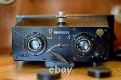 RARE Le Sterea by Jules Richard with Boyer lenses
