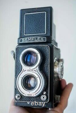 RARE! Semflex Otomatic Angénieux Type X1 75/3.5