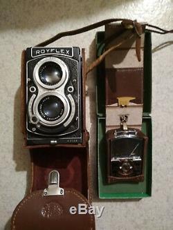 RARE appareil photo ROYFLEX III ROYER + cellule REALT