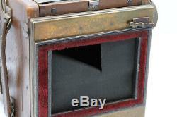 REFLEX ENSIGN SPECIAL Tropical Model Format 8 x 10,5 cm Zeiss-Tessar 4,5/18 cm