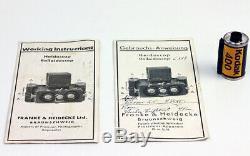 ROLLEIDOSCOP 6 x 13 cm Franke & Heidecke, Braunschweig Allemagne Vers 1926