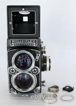 ROLLEIFLEX 2.8 E Xenotar 2.8 80 mm viseur sportif cellule à changer