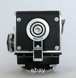ROLLEIFLEX 2.8 E Xenotar 2.8 80 mm viseur sportif cellule cassée