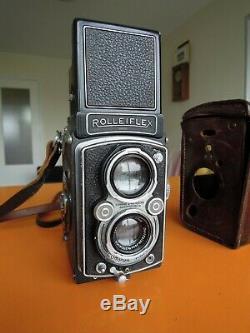 ROLLEIFLEX 6x6 AUTOMAT model 3, Carl Zeis Tessar 1/3.5 75 mm