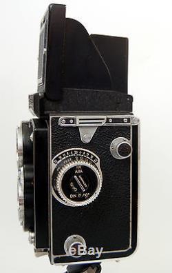 ROLLEIFLEX Automat CARL ZEISS TESSAR F3.5 / 75mm Model 35C + Original Case