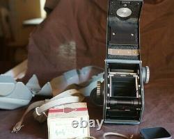 ROLLEIFLEX Baby 4x4 GRIS TOP Collector, Neuf, fonctionnel avec divers accessoires