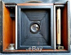 Rare 1897 Kodak Nº 4 Boite Appareil Photo Eastman Company Cartridge Model E Roch