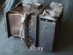 Rare Appareil A Manchon 9 X 12 Cm-objectif Verax Duplouich-ch. Hofmans Bruxelles