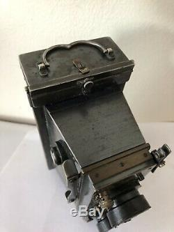Rare Camera Stéréoscope Verascope Jules Richard Chambre Boîtier Appareil Photo