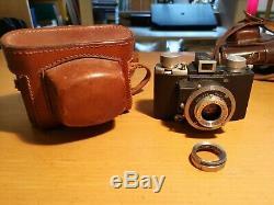 Rare Cornu Ontobloc I with Boyer Paris Saphir 50mm f3.5 Leica, Contax