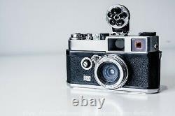Rare Foca U. R. C + rare Oplex 2.8cm f/4.5 French Leica, Zeiss, Rectaflex