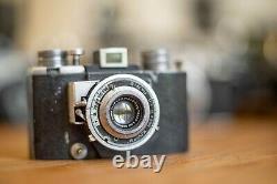 Rare Reyna Cornu camera + Berthiot Flor 50/3.5 Leica, Angenieux, Kinoptik