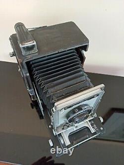 Rare Speed Graphic Graphex Optar 135 mm 4.7 Press camera Soufflet appareil photo