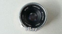 Rare Wrayflex 1 SLR (1952) & f2.8 Unilux 50mm Lens (1954)