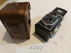 Rare ZEISS IKON IKOFLEX II 852/16 avec Tessar 13.5 f= 75mm