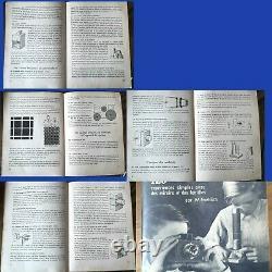 Rare jeu Opticus Photographe précinéma optical toy magic lantern Stuttgart 1951