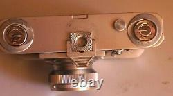 Rare télémétrique KIEV II Export 1950, + Zorki ZK, f 2/5 cm de 1950 + sac + box