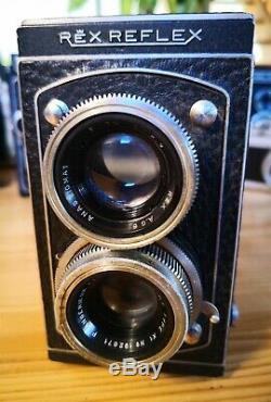 Rex Reflex + rare Angénieux Type X1 75/3.5 Rolleiflex, TLR