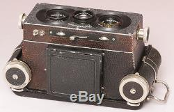 Rollei Rolleidoscop 6x13 zweites Modell 1928 N°12600t Tessaren 4,5/75