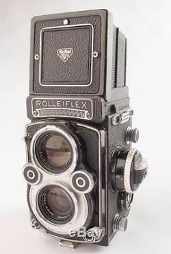 Rollei Rolleiflex 3.5 F Xenotar 3.5/75mm TLR Camera with Light Meter