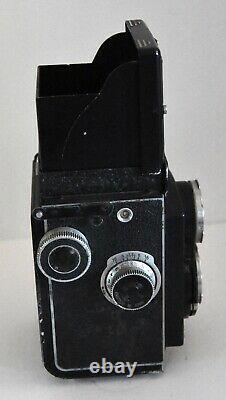 Rolleicord 6x6 Objectif Zeiss Triotar 13.5 F 75 Plus Pochette Cuir