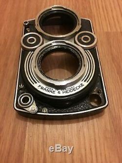 Rolleiflex 3.5F Front Panel+ Shutter Lock Lever+Collar