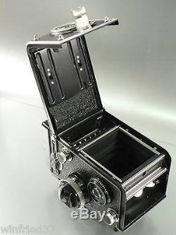 Rolleiflex 3,5F mit Xenotar 3,5/75 mm top